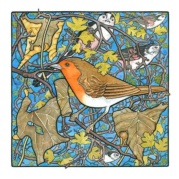 Robin In Hawthorne davidhallartist.info