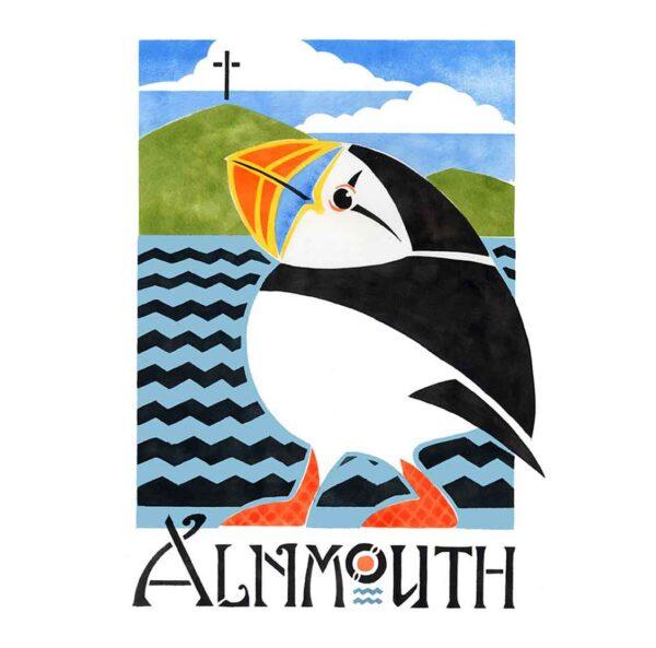 Alnmouth arts festival Puffin 2011 davidhallartist.info