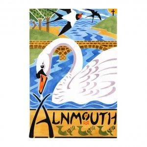 Alnmouth arts festival Swans 2013 davidhallartist.info