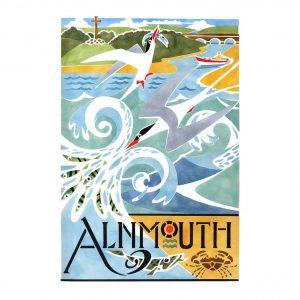 Alnmouth Arts Festival Terns 2012 davidhallartist.info