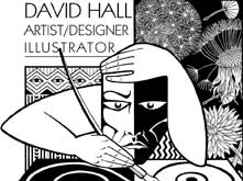 David Hall Logo davidhallartist.info